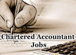 Chartered Accountant Jobs