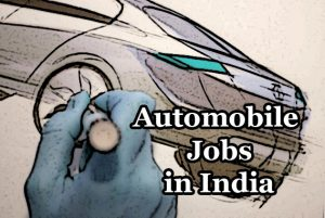 automobile jobs in India